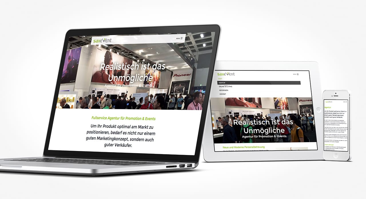 Interaction Website Agentur C2